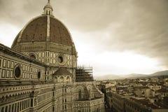 Собор Santa Maria del Fiore Флоренса Firenze Стоковое фото RF