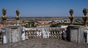 Собор Sao Francisco, Evora, Португалии Стоковое Фото