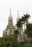 Собор Se в Сан-Паулу, Бразилии Стоковое Изображение