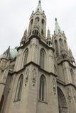 Собор Se в Сан-Паулу, Бразилии Стоковое Фото