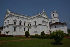 Собор Se в Goa Стоковое Изображение RF