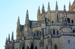 собор segovia Испания стоковые фото