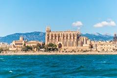 Собор Seu Ла, Palma de Mallorca Стоковые Фотографии RF