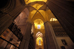 собор seville Испания Стоковые Фотографии RF