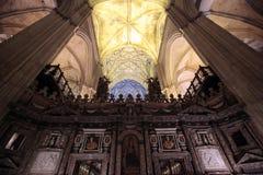 собор seville Испания Стоковое Фото