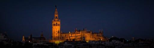 собор seville стоковые изображения
