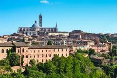 Собор Siena, Тоскана, Италия стоковое изображение