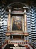 собор siena Стоковое Изображение