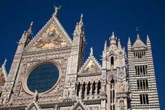 собор siena Стоковое Фото