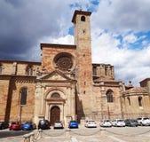 Собор Siguenza, Испания Стоковая Фотография