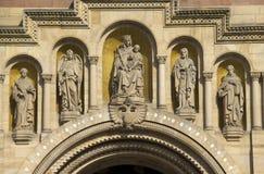 Собор Speyer, Германия стоковые фотографии rf