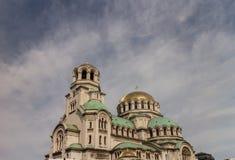 Собор St Александра Nevski в Софии, Болгарии Стоковая Фотография RF