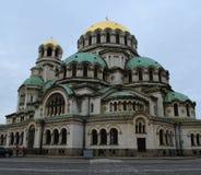 Собор St Александра Nevsky в София, Болгарии Стоковое фото RF