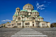 Собор St Александра Nevsky, София стоковые изображения rf