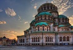 Собор St Александра Nevsky, София стоковая фотография