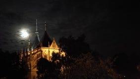 Собор St Барбары в Kutna Hora Стоковые Изображения RF