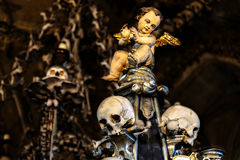 Собор St Барбары, Kutna Hora стоковое изображение rf