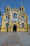 Собор St Владимира в Киеве Стоковое фото RF