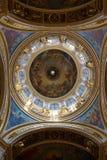 Собор St. Исаак, потолок Стоковое Изображение