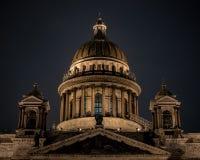 Собор St Исаак, Санкт-Петербург, Россия, стоковое изображение