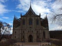 Собор St Barbora Стоковое Фото