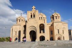 Собор St Gregory Lusavurich в Ереване Стоковая Фотография