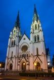 Собор St. John баптист--Саванна Стоковая Фотография RF