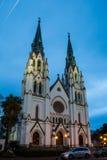 Собор St. John баптист--Саванна Стоковое Изображение