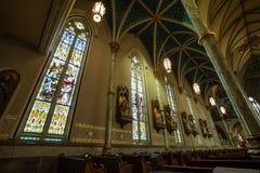 Собор St. John баптист--Саванна Стоковое Изображение RF