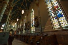 Собор St. John баптист--Саванна Стоковые Фото