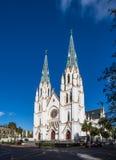 Собор St. John баптист--Саванна Стоковые Фотографии RF