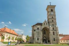 Собор St Michael Alba Iulia Стоковая Фотография RF