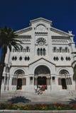 Собор St Nicholas, Монако Стоковое фото RF