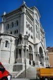Собор St Nicholas, Монако Стоковое Изображение RF