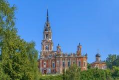 Собор St Nicholas, Mozhaisk, Россия Стоковое Изображение RF