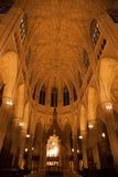 Собор St. Patrick, внутрь Стоковое Изображение