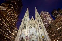 Собор St. Patrick в NY Стоковое фото RF