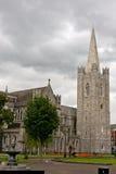 Собор St. Patrick, Дублин, Ирландия Стоковое фото RF