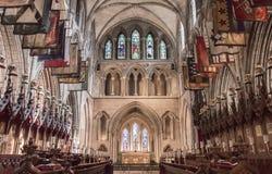 Собор St. Patrick s в Дублине, Ирландии Стоковое Изображение RF