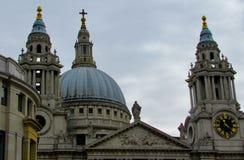 Собор St Paul's, Лондон Стоковая Фотография