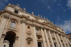 Собор St Paul, Ватикан Стоковое Фото