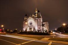 Собор St Paul в St Paul, Минесоте Стоковое Фото