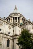 Собор St Pauls, город Лондона, Англии Стоковое Изображение RF