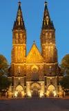 Собор St Peter и Пола, Прага Стоковое Изображение RF