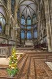 Собор St Peter Регенсбург внутрь стоковые изображения rf