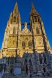 Собор St Peter Регенсбург стоковые фотографии rf