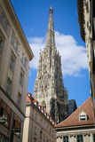 Собор St Stephans, вена, Австрия Стоковое Изображение