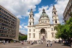 Собор St Stephen, Будапешт, Венгрия Стоковые Фотографии RF
