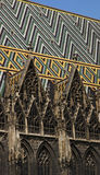 Собор St Stephen, вена - деталь Стоковые Фотографии RF