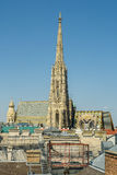 Собор St Stephen (Stephansdom) Стоковое Фото